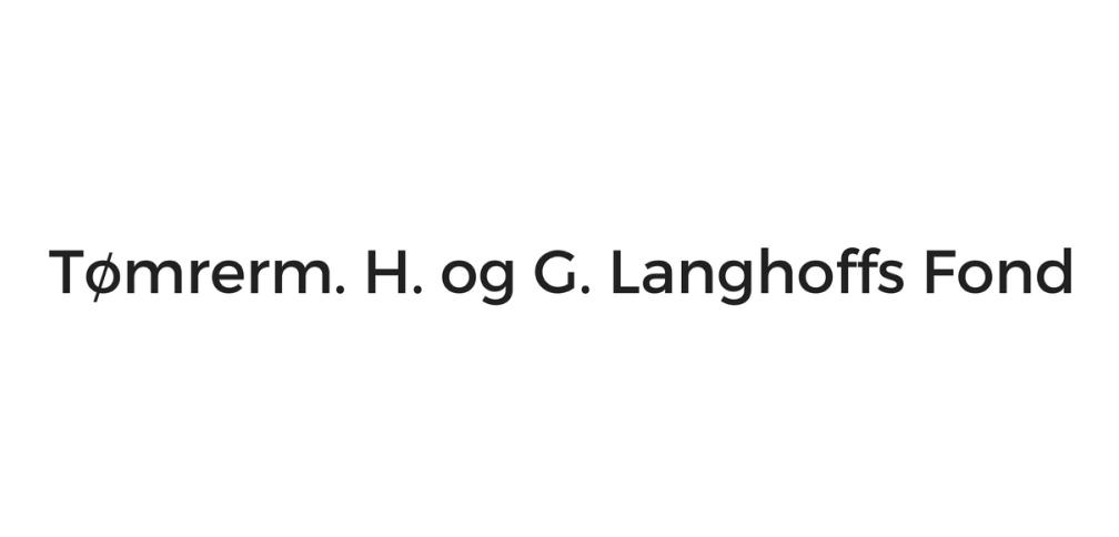 Tømrerm. H. og G. Langhoffs Fond