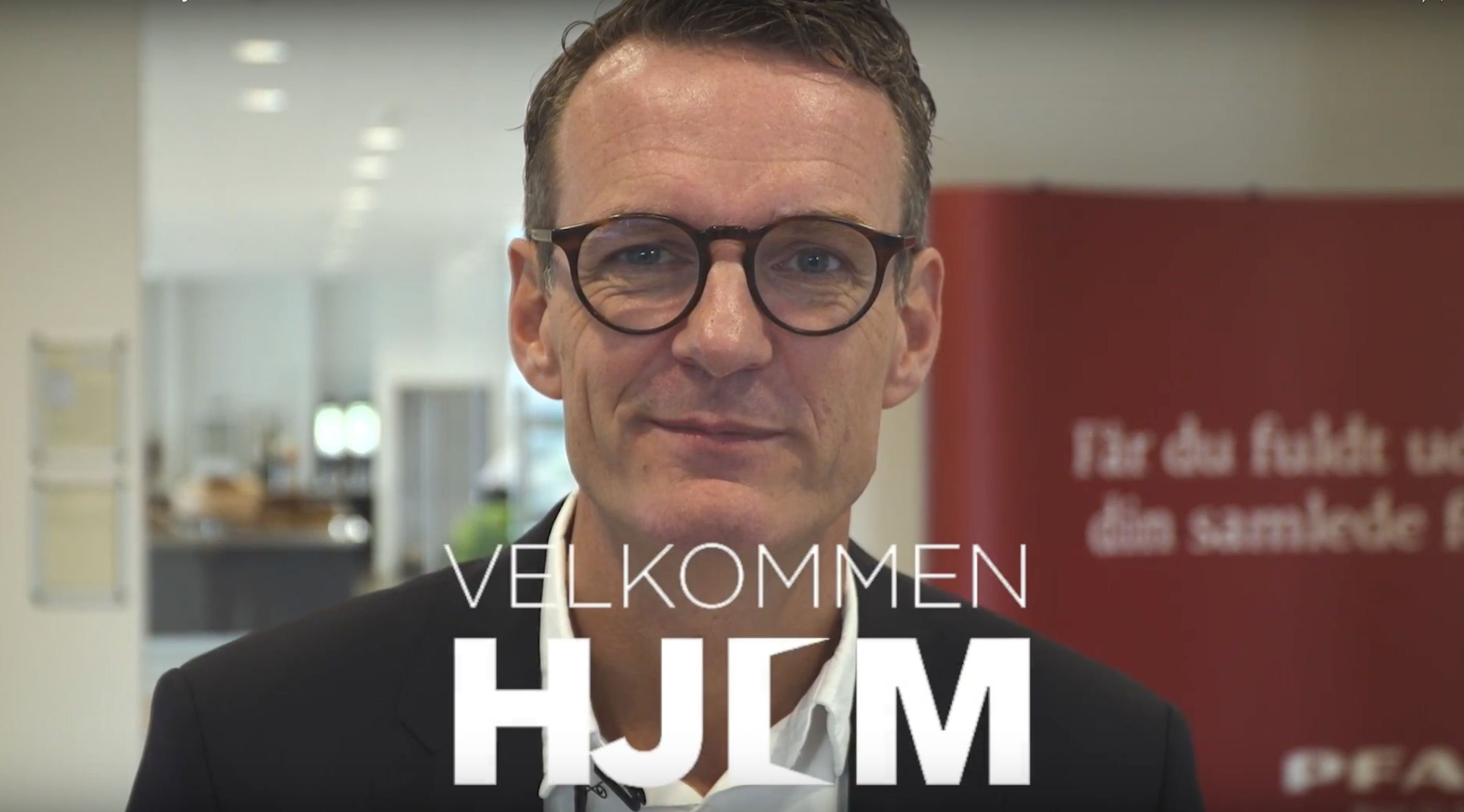 Velkommen Hjem– Jens Peter Udsholt, PFA