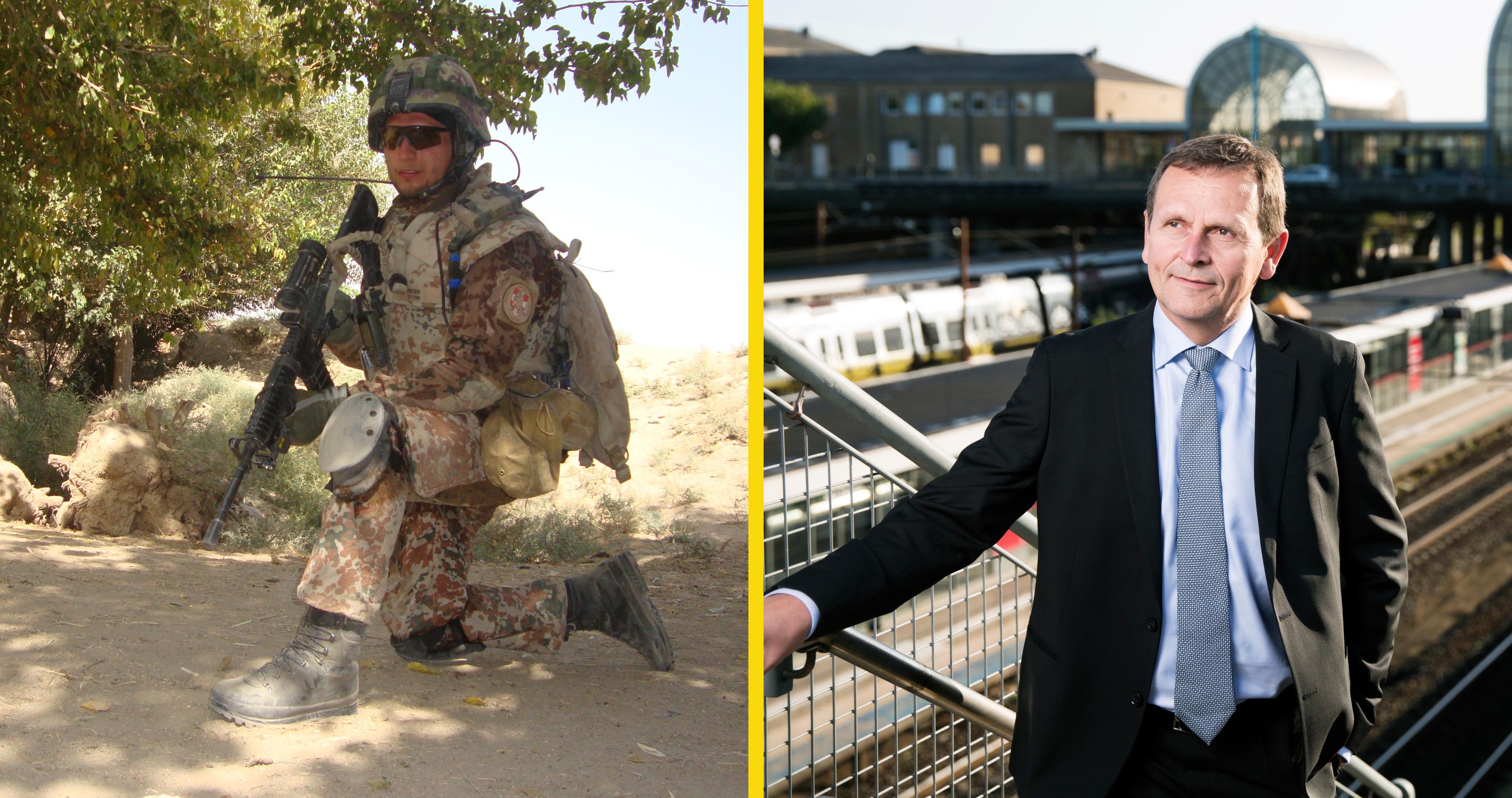 Veteran – og nyuddannet pilot – landede på begge ben trods coronakrisen